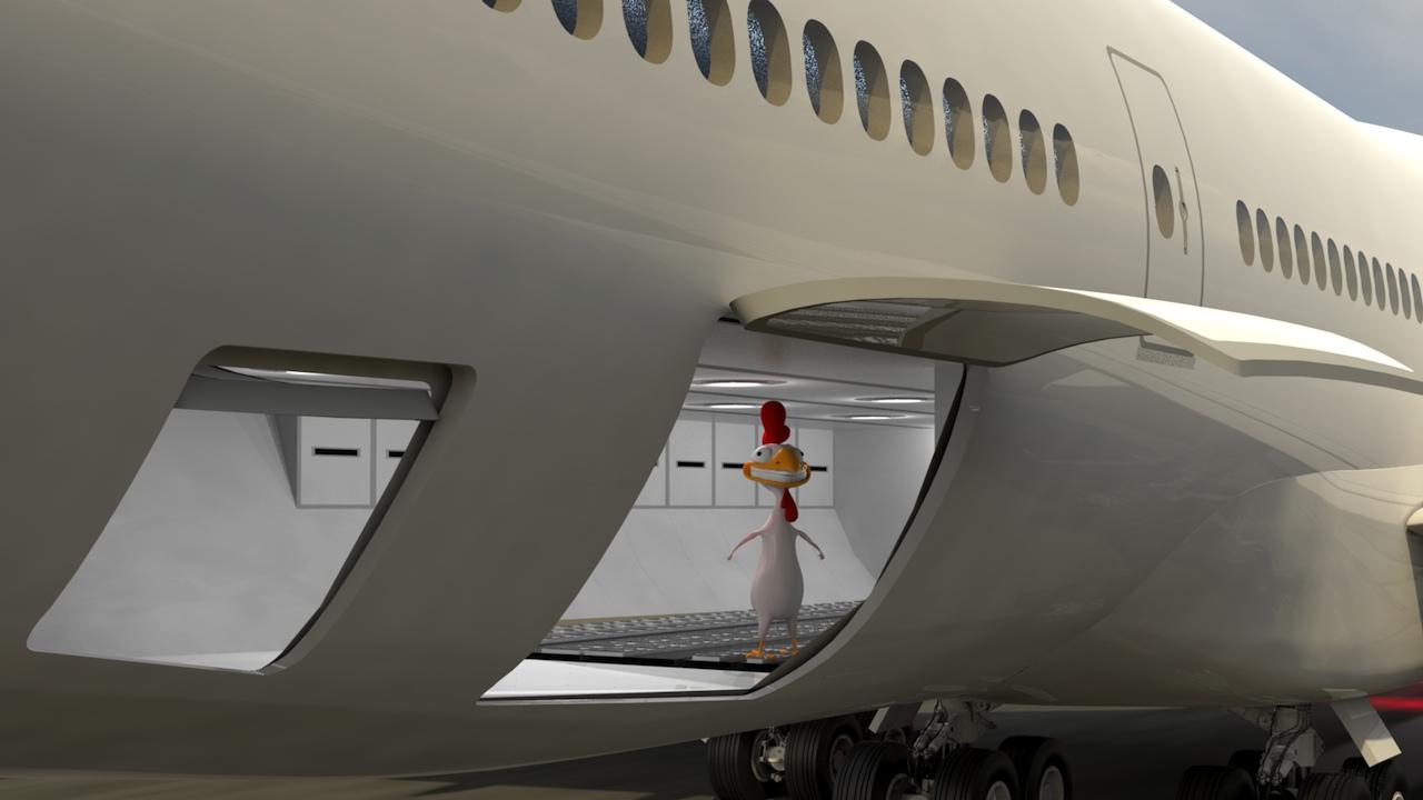 Interior Details & Mike James Media™ Boeing 747-8 \