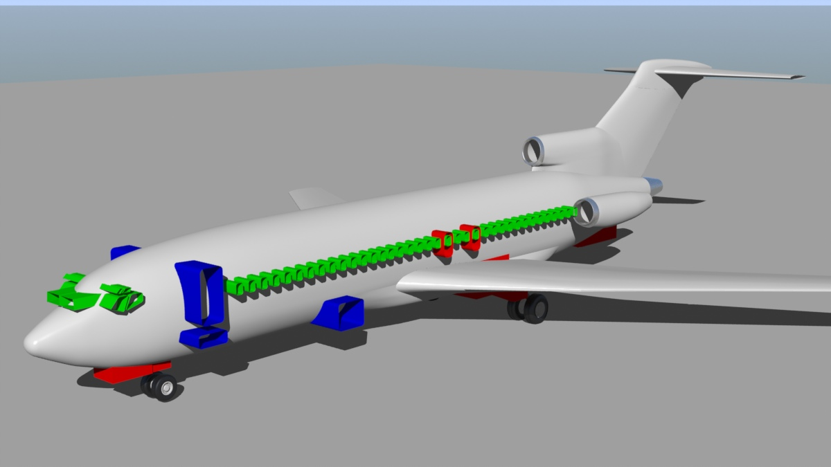 Boeing 727-100 project (Finished 09-13-10)