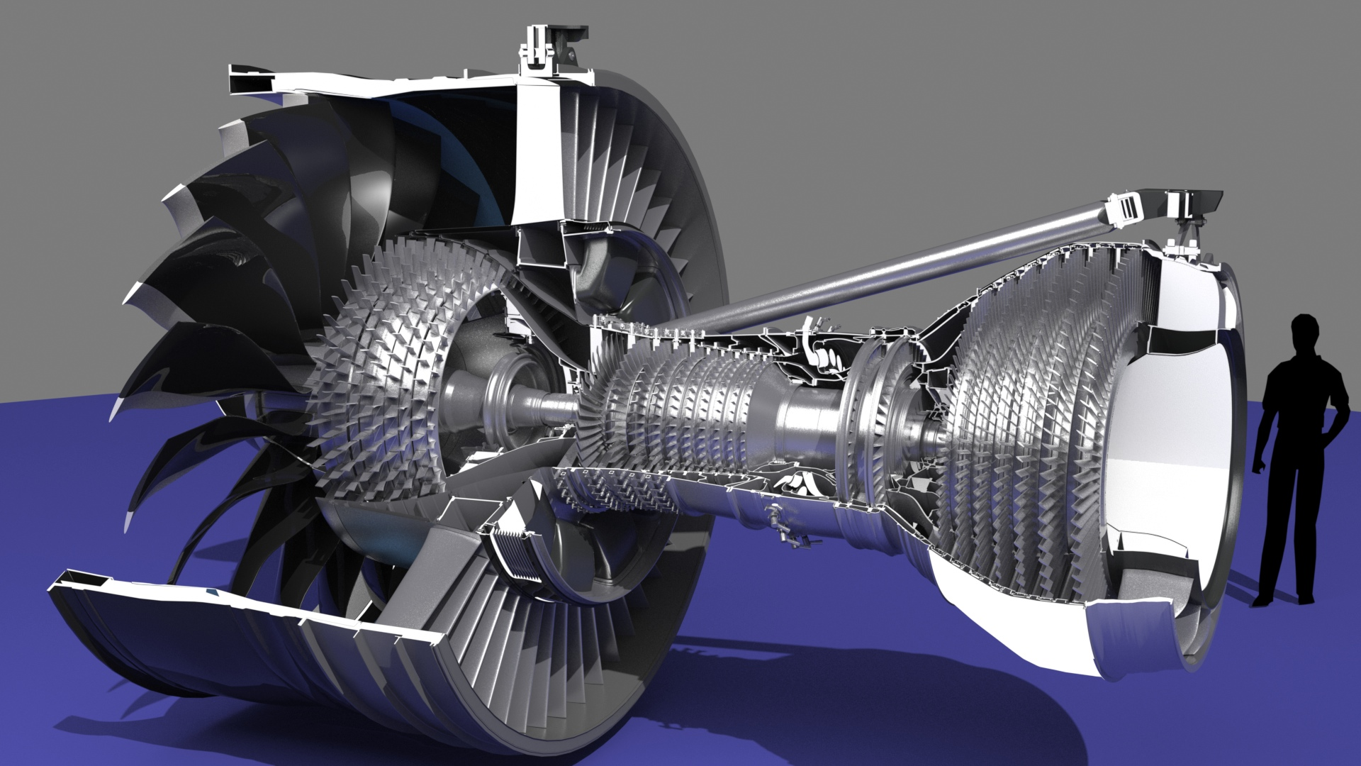 Mike James Media General Electric Genx 1b Engine Project 747 Jet Diagram Turbojet The Whole